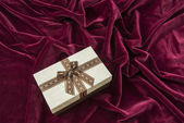 Gift box with bag — Stock Photo