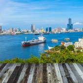 Taiwan's second largest city - Kaohsiung — Stockfoto