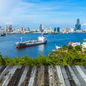 Taiwan's second largest city - Kaohsiung — Stock fotografie