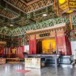 Corridor of A Confucius Temple, Typical Traditional Chinese Architecture, Located in Kaohsiung Taiwan — Stock Photo #55887199