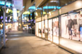 Abstract background of shopping mall, shallow depth of focus — Stock Photo
