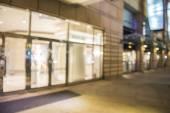 Abstraktní pozadí od nákupního centra, mělké hloubky zaostření — Stock fotografie