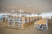 KAOHSIUNG - TAIWAN 13 NOVEMBER 2014: The new library opened in Kaohsiung — Foto Stock