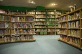 Kaohsiung - Taiwan 13 de novembro de 2014: A nova biblioteca abriu em Kaohsiung — Fotografia Stock
