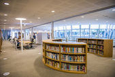 KAOHSIUNG - TAIWAN 13 NOVEMBER 2014: The new library opened in Kaohsiung — Stock Photo