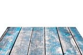 Dirty old wood and white background image — Stockfoto