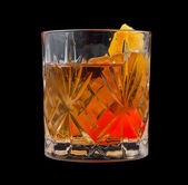 Old Fashioned drink — Stock Photo