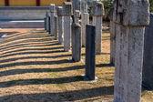 Korean gravestone — Stock Photo