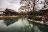 Gwanghalluwon pavilion — Stock Photo