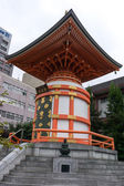 Japanese shinto temple — Stock Photo