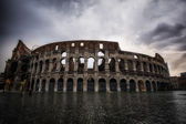 Stormy sky over Colosseum — Φωτογραφία Αρχείου