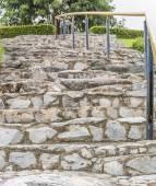Rock stairs — Stock Photo