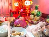 Chinease новый год продовольственной — Стоковое фото