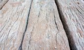 Grey concrete texture with wood shuttering carved on it backgrou — Stock Photo