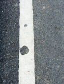 Asphalt texture on the road on day time  — Stock Photo