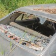 Old Dirty Car with Busted Window — Stock Photo #56140431