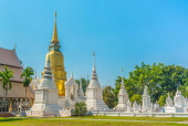 Image of old stupa on day time . — Stock Photo