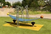 Swing at the playground — Stock Photo