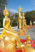 Statues on Big Buddha's hill — Stock Photo