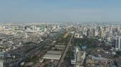 Panorama from an observation platform of hotel Baiyoke Sky in Bangkok, Thailand — Stock Photo