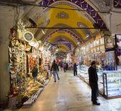 Istambul, Turkey - November 27, 2014: Mall Grand Bazaar (Kapalıcarsı) in Istanbul, Turkey — Stock Photo