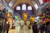 Istambul, Turkey - November 27, 2014: Mall Grand Bazaar (Kapalıcarsı) in Istanbul, Turkey — Foto Stock