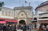 Istambul, Turkey - November 27, 2014: Mall Grand Bazaar (Kapalıcarsı) in Istanbul, Turkey — Fotografia Stock