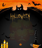 Halloween ads — Stock Vector