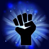 Symbols of power — ストックベクタ