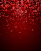 Abstract background s hearts — Stock Vector