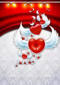 Background Valentine's Day — Stock Vector
