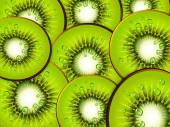Background with kiwi — Stock Vector