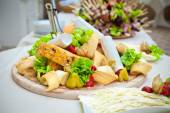 Catering food decorated — Stock Photo