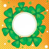 St Patricks day background  — Stock Vector