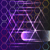 Purple abstract background with rhombus — Wektor stockowy