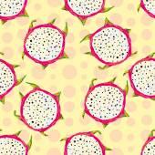 Vibrant Dragon fruit — Stock Vector