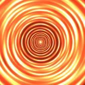 Orange circles background — Stock Vector
