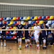 The volleyball players — Stock Photo #55623317
