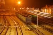 La estación de tren — Foto de Stock