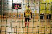 Futsal goalkeeper — Stock Photo