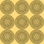 East geometric seamless pattern — ストックベクタ