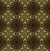 Vintage victorian retro seamless pattern. — Stock Vector