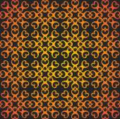 Vintage victorian retro seamless pattern. — Stock Vector