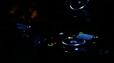Barcelona Night Disco Party Sala Apolo — Stock Video