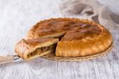 Vegetable pie — Stock Photo