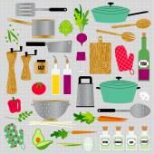 Kitchen Clip Art — 图库矢量图片