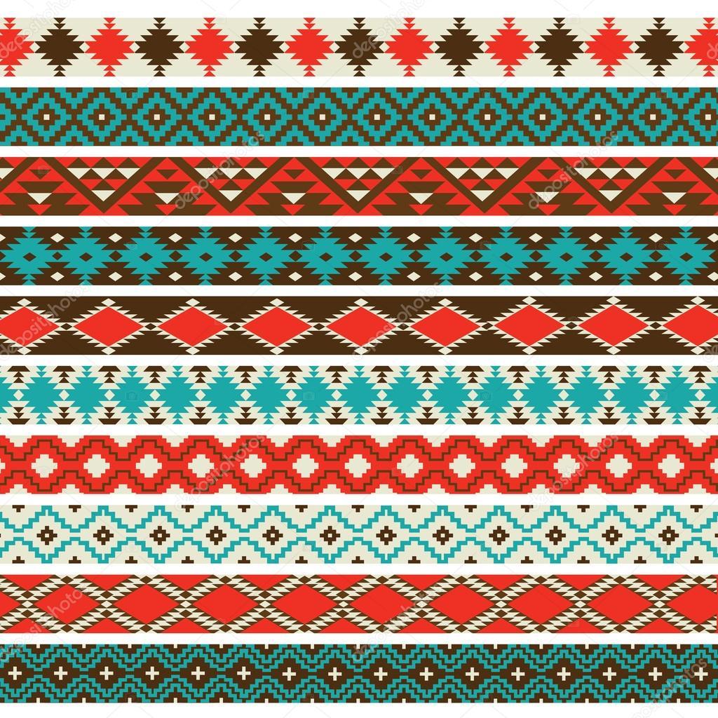 Native American Border Patterns Stock Vector 169 Scrapster