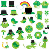 St. Patrick's Day clip art — Stock Vector