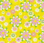 Bright floral pattern — Stock Vector