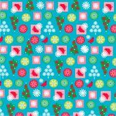 Nordic Christmas Pattern — Stock Vector